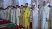 Mohamed VI-prièrre-Aid Al Fitr