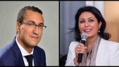 Leila Aïchi et M'jid El Guerrab