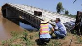 Vidéo. Kenya: un pont chinois s'écroule après son inspection par le Président Kenyatta