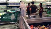 Supermarché au Qatar