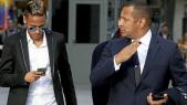 Neymar et son père