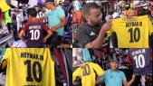 Maillots de Neymar-PSG à Koréa
