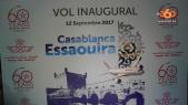 Cover: A bord du premier vol Casa-Essaouira de la RAM