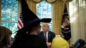 Halloween Maison Blanche Trump