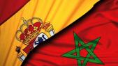 Maroc Espagne Rabat Madrid Drapeau