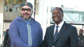 Mohammed VI à Abidjan