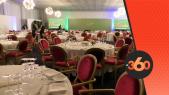 Cover Video -Le360.ma •préparation de la salle de déjeuner auquel prendra part le roi