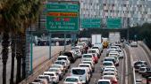 Embouteillages en Catalogne