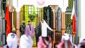 roi mohammed VI émir du qatar