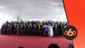 Cover Video -Le360.ma •استقبال حار لجلالة الملك خلال التقاط الصورة الجماعية بأبيدجان