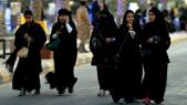 Saoudiennes en promenade