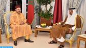 roi mohammed VI emir du qatar