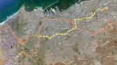 tracé tramway casbalanca