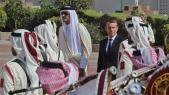 Le président Macron, jeudi 7 décembre, au Qatar.