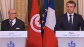 Macron et Essebsi