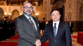 Mohammed VI-président du groupe chinois BYD