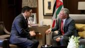 Abdallah II de Jordanie et Nasser Bourita
