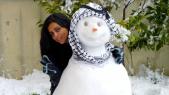 Maroc homme de neige