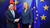 Nasser  Bourita avec Federica Mogherini