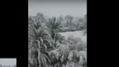 Vidéo. il neige à Ouarzazate: le désert marocain se couvre d'un manteau blanc