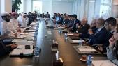 hommes d'affaires Maroc-Qatar