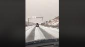 neige autoroute
