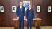 Saâd-Eddine El Othmani et le prince Radu de Roumanie -3