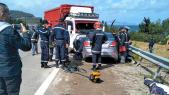 Tétouan collision entre camion et voiture