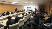 Salle de réunion au siège du parti du PPS