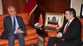 Abdeltif Loudyi et Martin Tlapa, vice-ministre tchèque aux Affaires étrangères