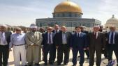 Palestine: Nasser Bourita visite la mosquée Al-Aqsa