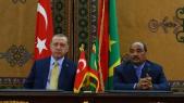 Erdogan et Ould Abdel Aziz