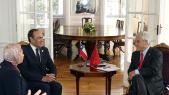 Habib El Malki et Président chilien élu Sebastián Piñera