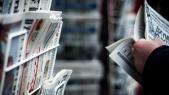 Kiosque à journaux Russie