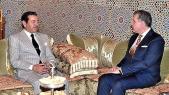 Le prince Moulay Rachid avec le prince Radu de Roumanie.
