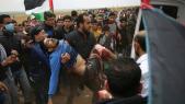 Palestinien blessé
