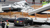 Pont effondré Miami