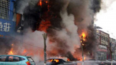 Chine incendie maison de karaoké