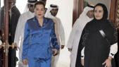 La princesse Lalla Hasnaa et Cheikha Al-Mayassa Bent Hamad Bin Khalifa Al Thani