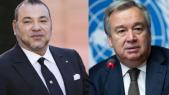 Mohammed VI et Antonio Guterres