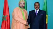 Mohammed VI et Denis Sassou N'Guesso