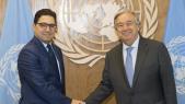 Nasser Bourita et  António Guterres
