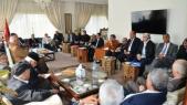 El Othmani réunion partis et syndicats