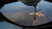 Ravitaillement en vol du F16 marocain