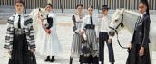 Défilé Dior dans les Grandes Ecuries de Chantilly