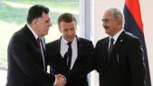 Macron-responsables libyens