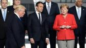 Trump-Macron-Merkel