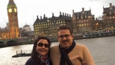 Taoufik Bouachrine et épouse