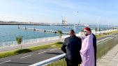 Roi Mohammed VI Roi inaugure les nouveaux ports de pêche et de plaisance de Tanger