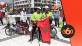 cover Video -Le360.ma •  طنجة تودع مغامرين احدهما معاق في رحلة على دراجة نحو الصين